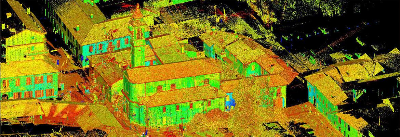 Laser Scanner Varese Chiesa Ss Ambrogio E Martino